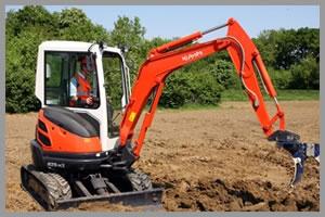 gépi földmunka - árokásás